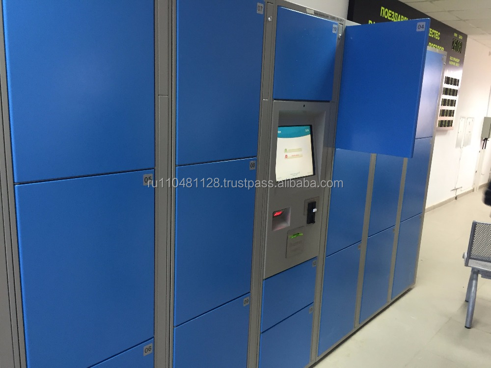 electronic locker with payment system
