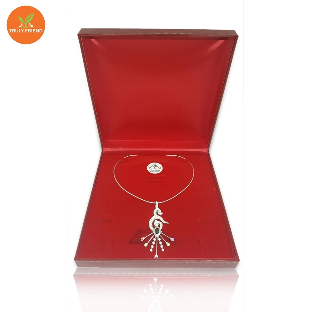 Necklaces silver jewelry and Make from pure silver 92.5% product jewelry of thailand