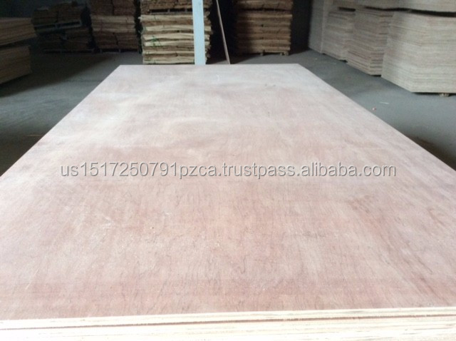 Low price hardwood core red face plywood, size 1220*2440mm plywood