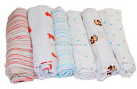 100% Organic Cotton Muslin Wrap Blanket Baby Muslin Swaddle