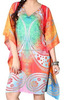Simple Design cheap Kaftan /Dubai very fancy kaftans / Beautiful short Ladies multi colour antique design printed beach kaftan.