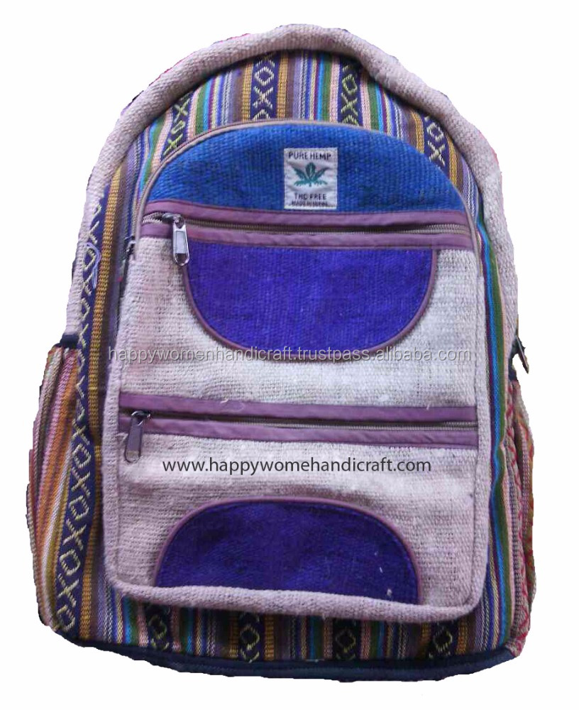 Hemp Bag Pack-Unisex fair Trade