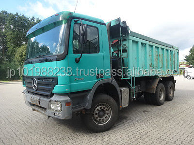 USED TRUCKS - ACTROS 3336 6X6 TIPPER (LHD 9042)