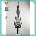 Low MOQ DIY ECO Friendly Decorative Macrame Planter Hanging Basket Cotton Rope