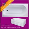Rectangle BATH TUB WITH SEAT , ACRYLIC BATHTUBS CEPS Turkey