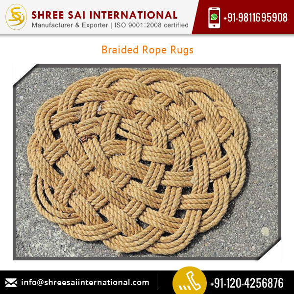 Affordable Price Quality Tested Braided Rope Rugs from Genuine Supplier