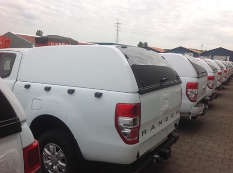 Hard top fitting Ford Ranger DC 2015 facelift pick up Karuna canopy