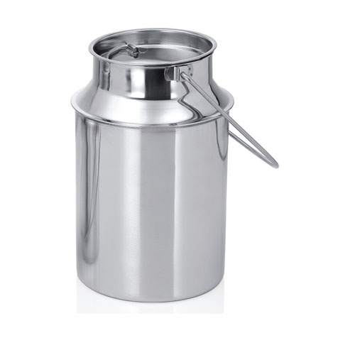 different liters aluminum stainless steel milk transporting milk can