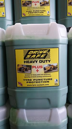 Drivesafe heavy duty PLUS+ off-road tyre sealant