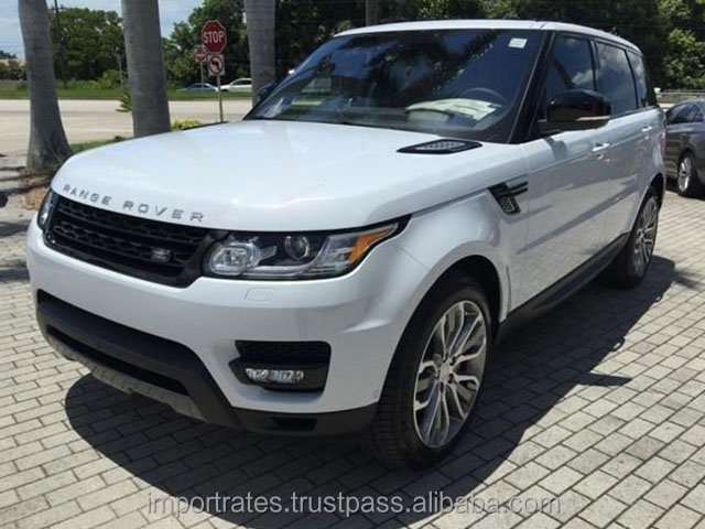 Export Ready 2016 Land Rover Range Rover Sport 5.0L Supercharged V8 AWD SUV