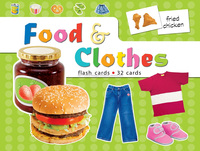 Flash Cards - FA 1014E Food & Clothes