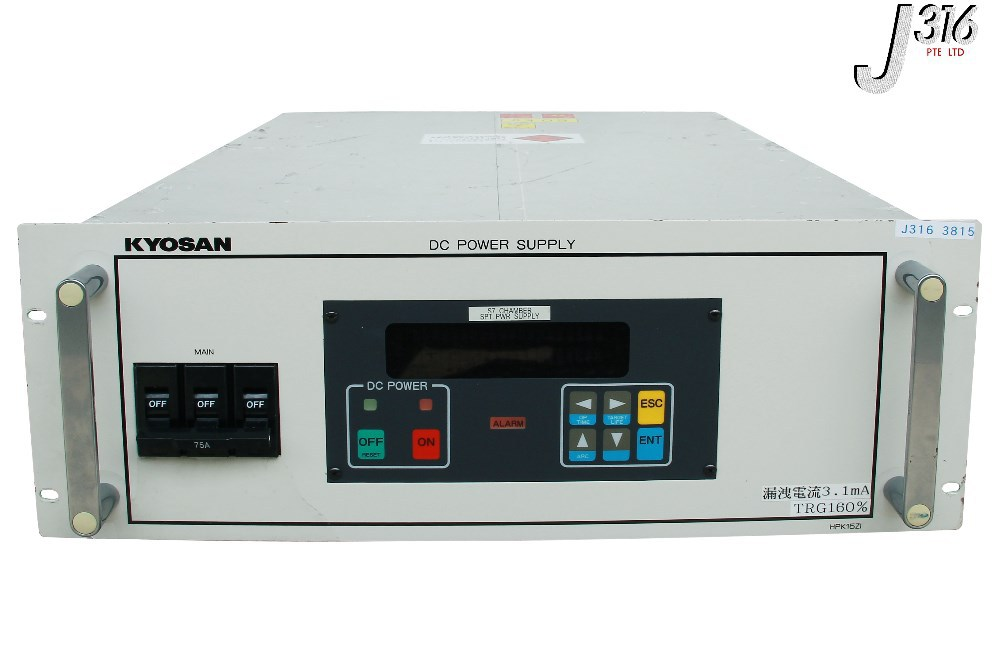 3815 KYOSAN DC POWER SUPPLY HIGH VOLTAGE HPK15Z1