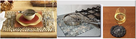 High polished cobble stone for sale 5-8cm