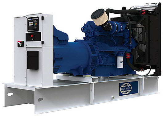 Diesel Generating Set. Power: 450/400 KVA. Open Version. Model: P450-1