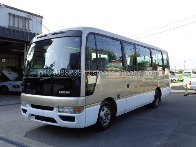 USED BUSES - NISSAN CIVILIAN BUS LONG SX (RHD 821193 DIESEL)