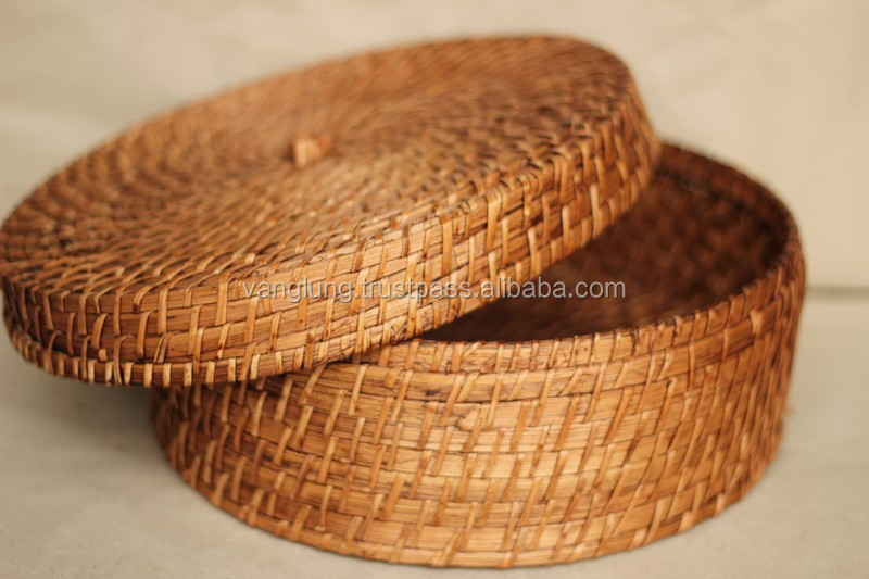 Rattan box from Vietnam