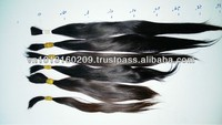 Bulk hair for wig making in hair extension