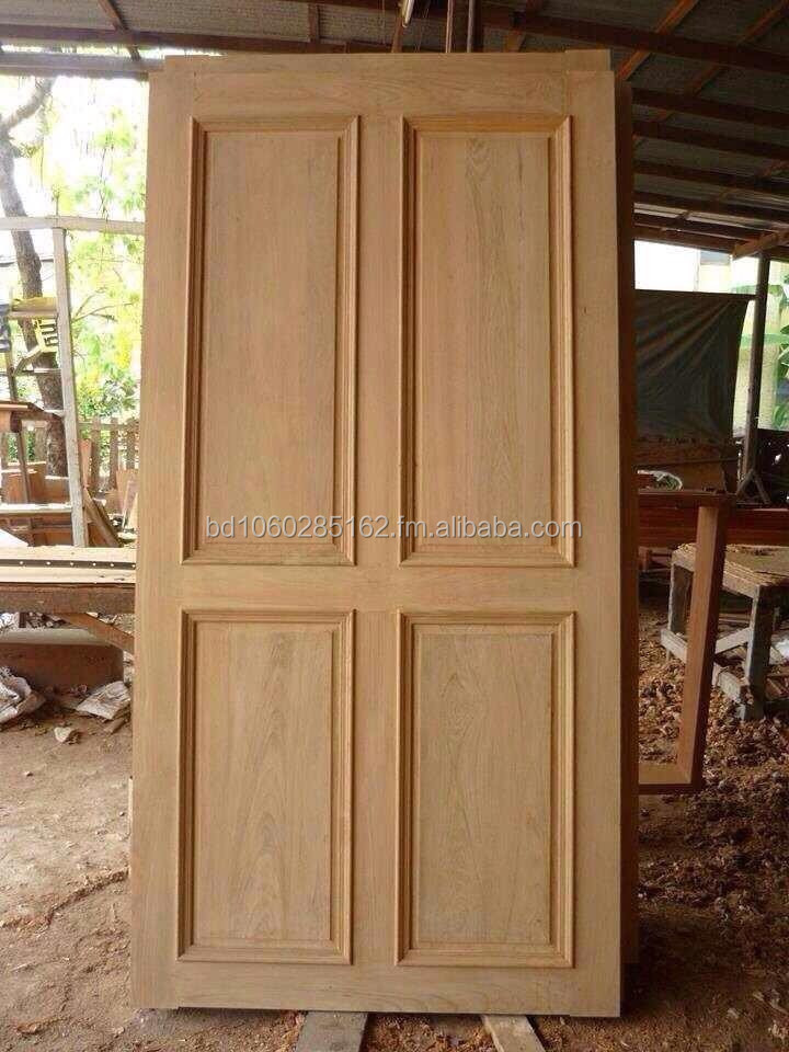 Teak Wood Door Thai Origin