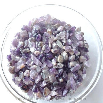 Amethyst Stone Chips for landscaping