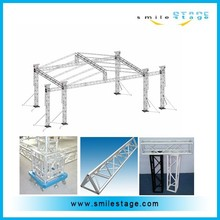 hottest 6 pillars / 6 leg tower truss with wings for concert truss design