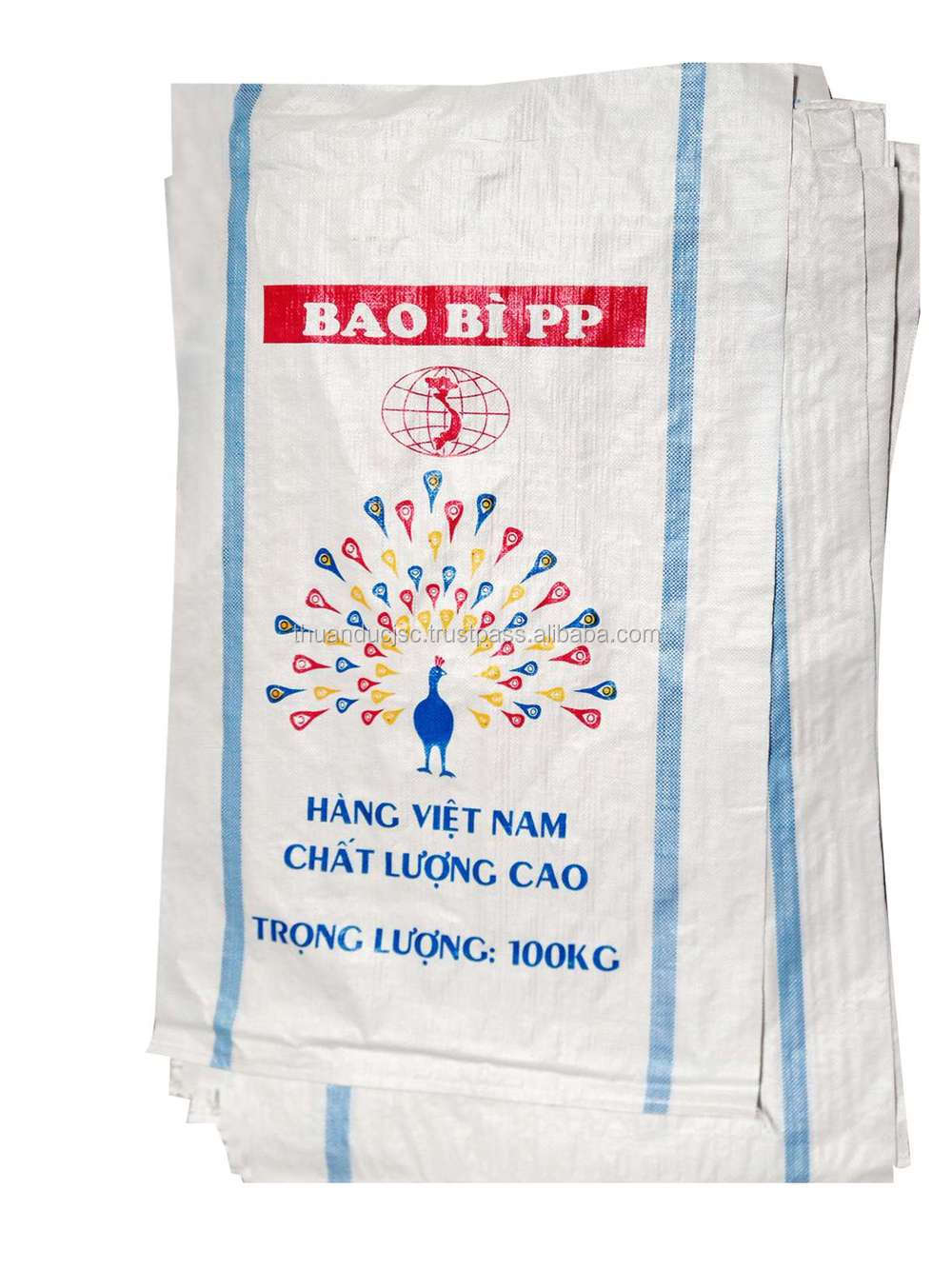 Vietnamese manufacturer 2015 new 25-50 kgs printed bag for Corn packaging