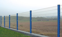 3.00mm , 3.85mm ,4.00mm whith 1.70x2.00M, Welded Wire Mesh Fence , panels Galvanized