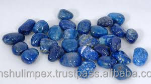 Lapis Lazuli Tumbled Stone for healing, meditation and decoration