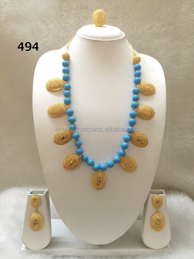 2 Gram Bead Necklace Set