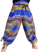 Rayon Drive In Wrap Pants Dashiki African Festival Party Print Variety Of Prints