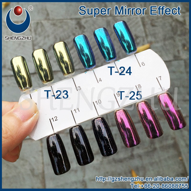 Super Gold Mirror Chrome Powder