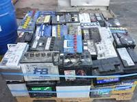 used battery scrap