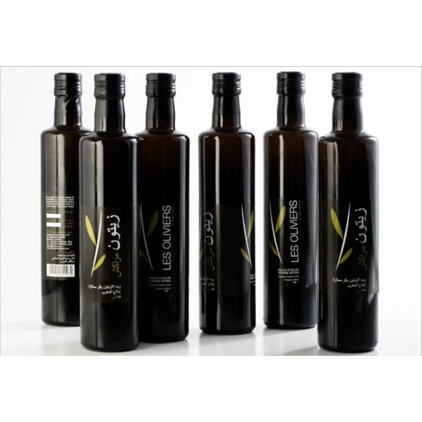 750 cc Extra Virgin Olive Oil Glass Bottles