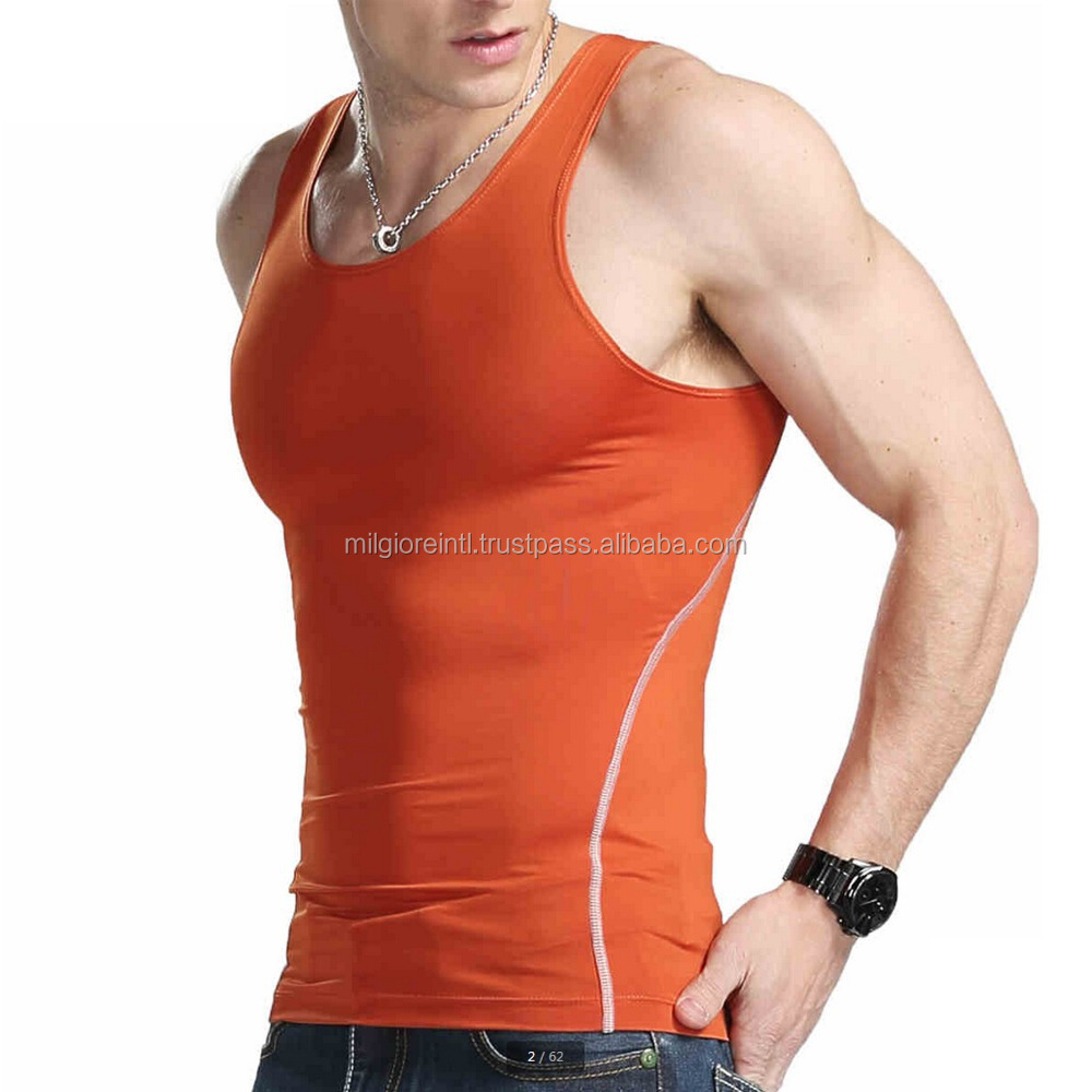 New Design Multicolor Tank Top Custom Gym Stringer Vest Wholesale in China