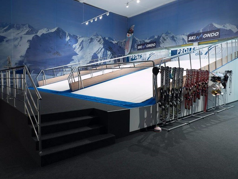 HQ Proleski endless dry slopes simulator Buy in China professional equipment for biathlon training, roller skiing, indoor skiing