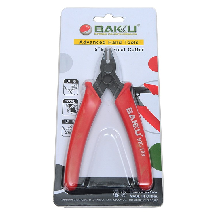 BAKU BK-109 dental orthodontic pliers with mini specifications for fishing and wire twisting