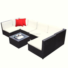 rattan outdoor dining room furniture set from VIETNAM supplier D.L-104