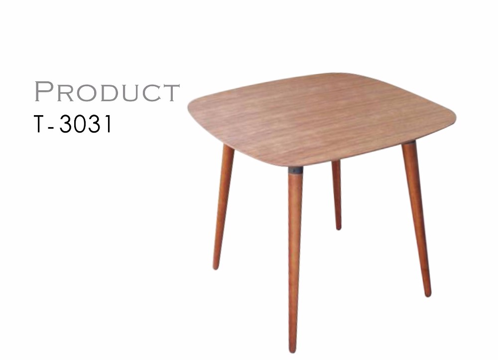 Taiwan Small Oval Wood Mdf Cafe Dining Table Buy Wood