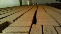 Coco peat for flower planting