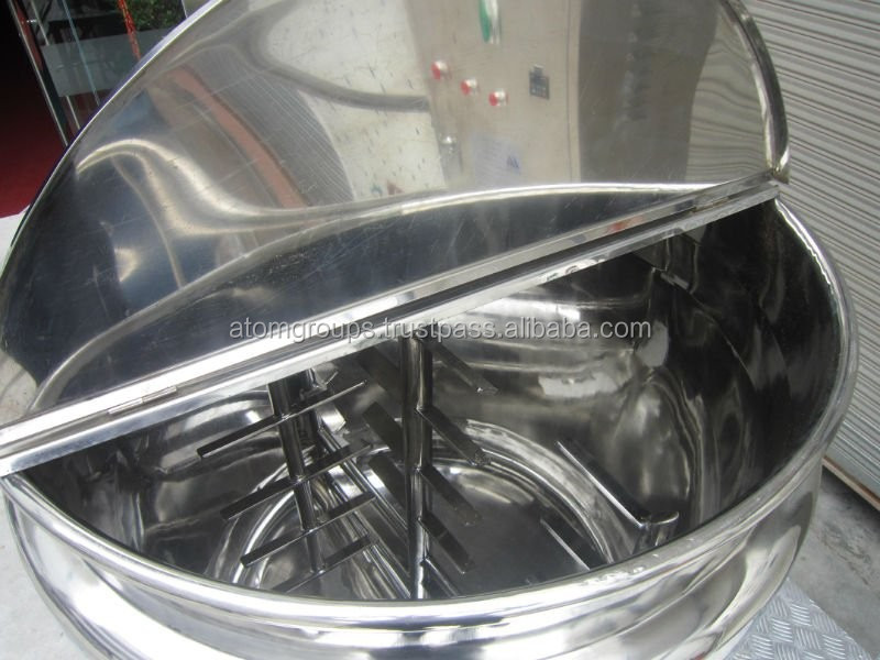 Large capacity liquid soap mixing machine