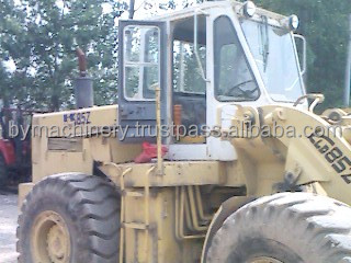 kawasaki wheel loader/used loader with bucket from japan (85z)