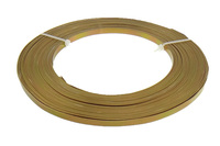 Aluminum Wire gold color plated 5x1mm 10m/Lot Sold By Lot