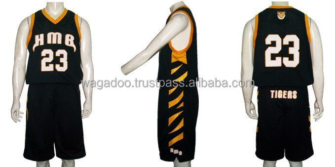 HMG Black Tigers Basketball Uniform