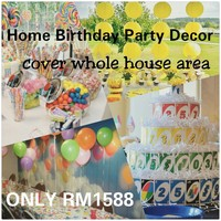 Birthday Party Decor Packages
