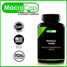 Melatonin Capsules Bottled Private Label GMP