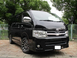 TOYOTA HIACE VAN LONG SUPER GL (526 GASOLINE)