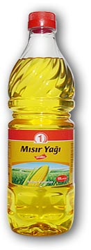 1lt Plastic Bottle Corn Oil from Turkey