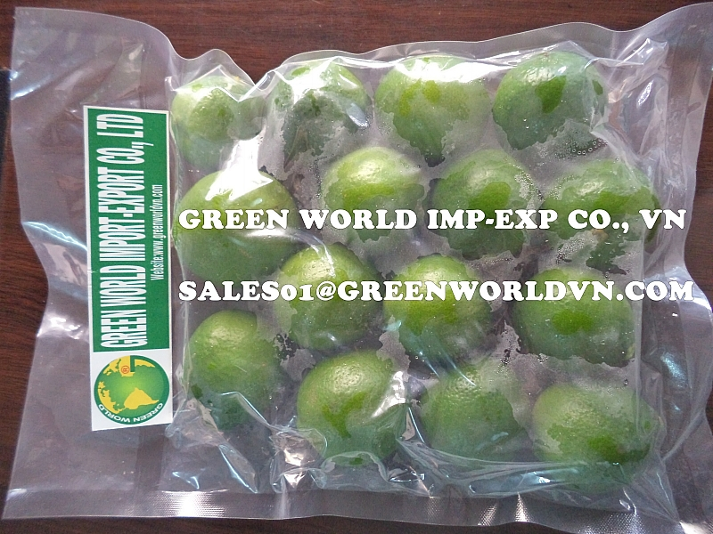 BEST SELLER FOR FRESH SEEDLESS LIME FROM GREEN WORLD, VIETNAM