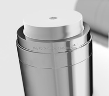 Aluminum over shell airless jar (306AB-XH-06)