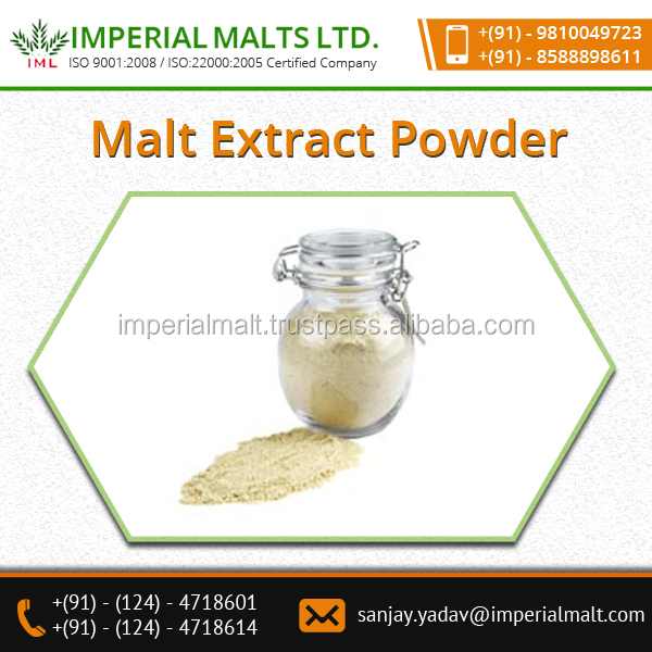 EEC/FDA Certified High Quality Malt Extract Powder Manufacturer