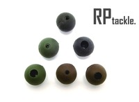 8mm Rubber shock beads for carp fishing